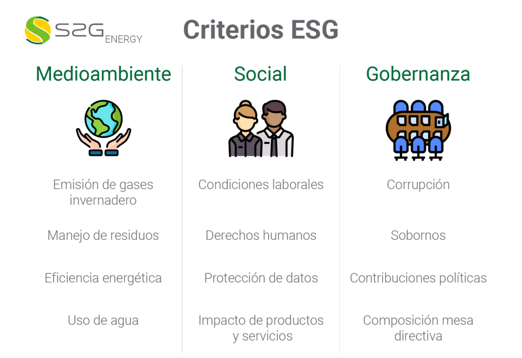 Criterios Inversiones ESG